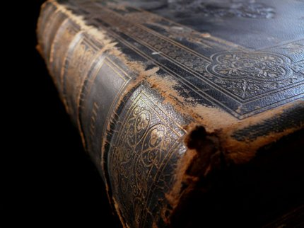 Literary old book